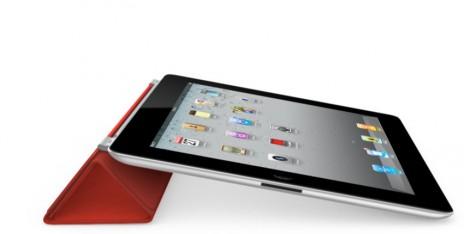 Foto: iPad2 včetně červeného pouzdra
