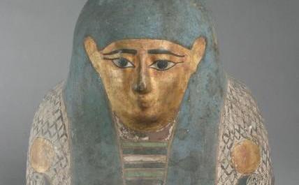 FOTO: staroegyptská mumie