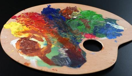 FOTO: Malířská paleta