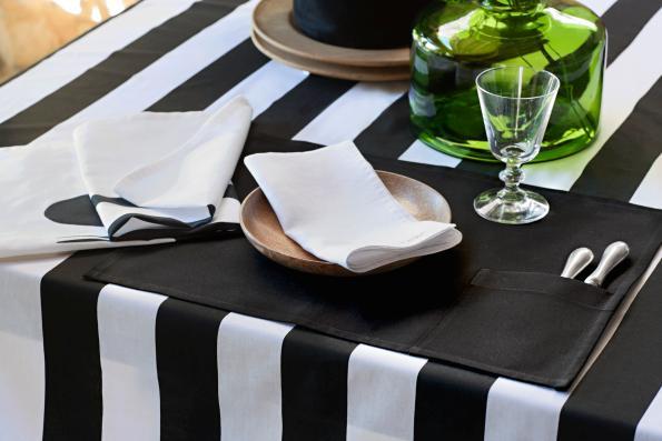 Úžasné černobílé prostírání od H&M