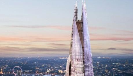 FOTO: V Londýne roste nejvyšší budova EU, Střep