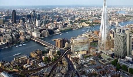 FOTO: Londýnský mrakodrap Střep se stane nejvyšší budovou EU