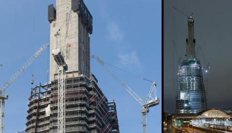 FOTO: V Londýně roste nejvyšší budova EU