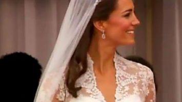 FOTO: Catherine Middleton ve svatebních šatech