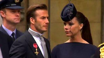 FOTO: David a Victoria Beckham na svatbě prince Williama