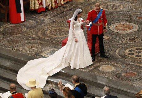 FOTO: Svatba prince Williama
