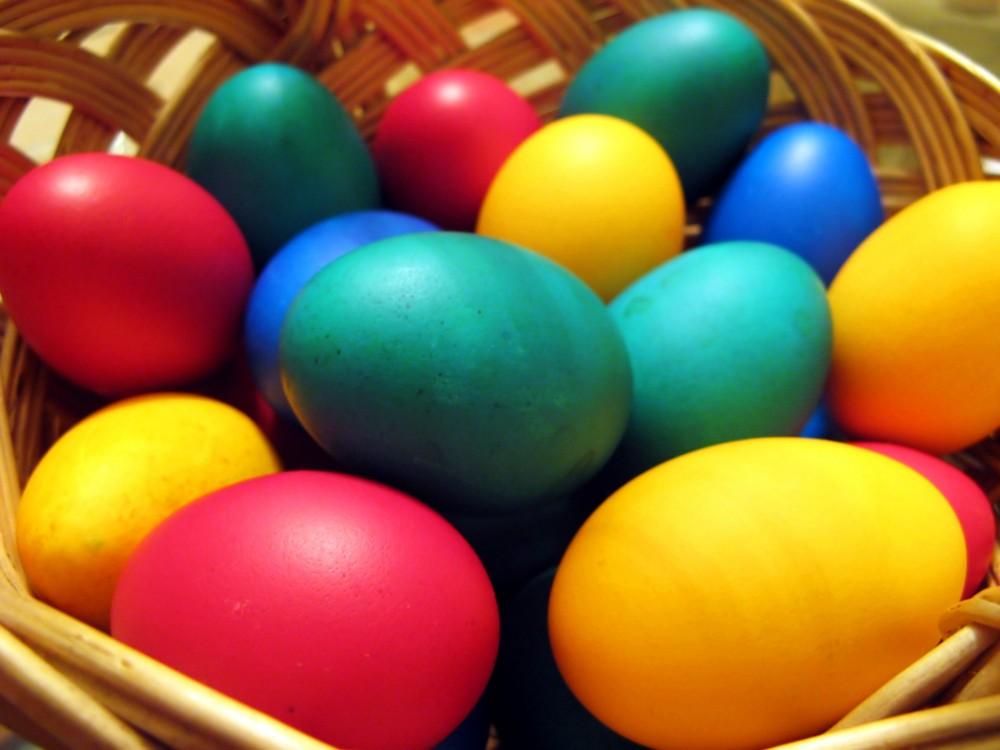 FOTO: Velikonoční vajíčka