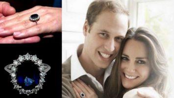 FOTO: Zásnubní prsten Kate Middleton