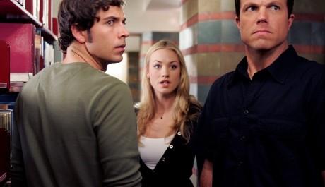 FOTO: Hvězdy seriálu Chuck: Zachary Levi, Yvonne Strahovski, Adam Baldwin