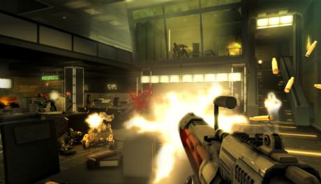 Deus Ex Human Revolution - střílení