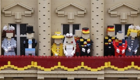 FOTO:Legoland Windsor -královská svatba