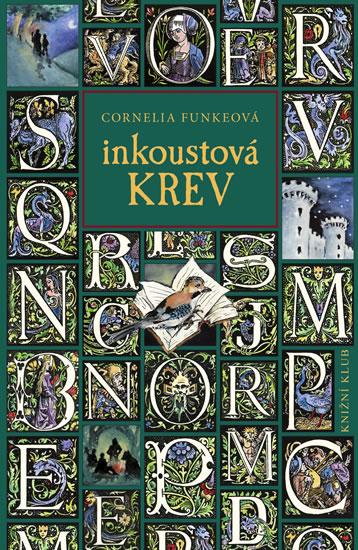 Cornelia Funkeová Inkoustová krev (obálka knihy)