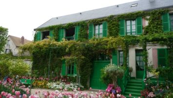 FOTO: Giverny, dům Clauda Moneta
