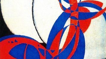 OBR: František Kupka Dvoubarevná fuga 1912