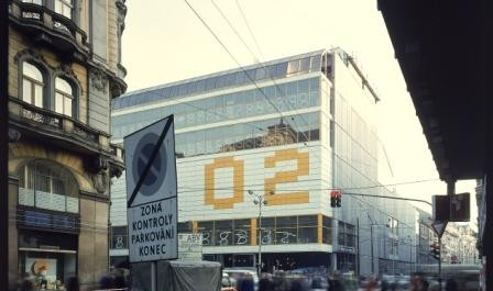 FOTO: Miroslav Masák- Martin Rajniš-John Eisler-Obchodní dům Máj v Praze- 1972-1975