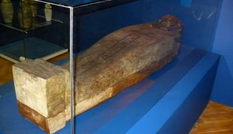 FOTO: Staroegyptská rakev