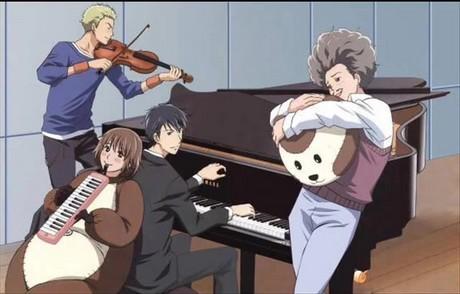 anime Nodame Cantabile, školní představení