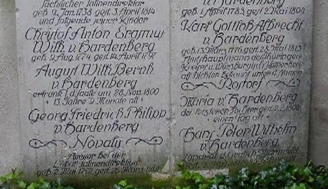 FOTO: Hrob básníka Novalise