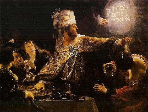 FOTO: Rembrandt: Belšasarova hostina