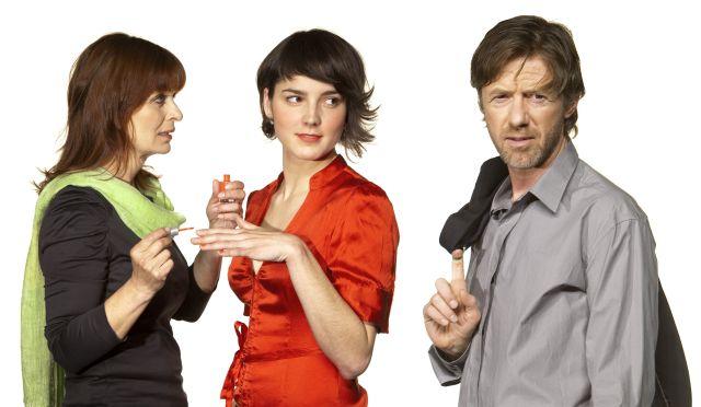 Foto: Hlavní protagonisté inscenace Román pro ženy