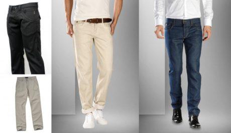 FOTO: Pánské trendy kalhoty