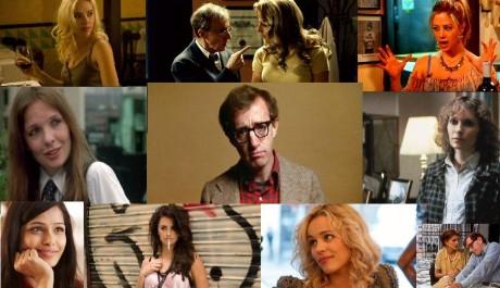 """Foto: Woody Allen a """"jeho ženy"""""""