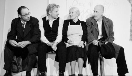 FOTO: Igor Chmela, Ladislav Hampl, Zdena Hadrbolcová a Jiří Ornest