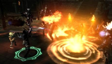 Dungeon Siege 3 - oheň