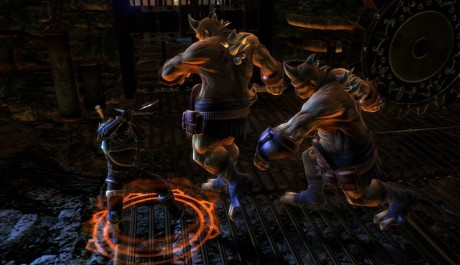 Dungeon Siege 3 - souboj