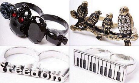 Prsteny nové generace jsou dvojité. Nepraktické ale stylové!