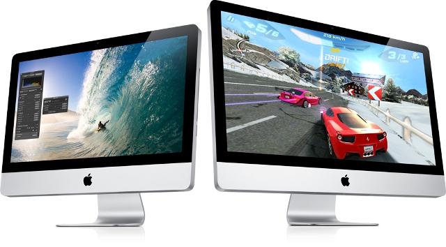 FOTO: Počítače Apple iMac jsou dostupné ve dvou velikostech