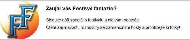Speciál k Festivalu fantazie 2011