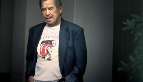 FOTO: Václav Havel působí na Brunclíkově fotografii příjemně civilně