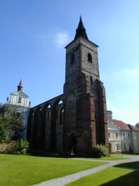 FOTO: Bývalý klášter Sázava skrývá legendu o svatém Prokopovi