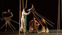 FOTO: Inscenace Magická flétna divadla Bouffes du Nord