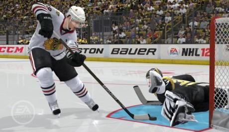 NHL 12 - nájezd