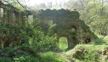 FOTO: rozvaliny mlýnu Cimburk
