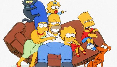 FOTO: Simpsonovi, fotka rodinky