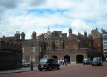 FOTO: St Jameses´s Palace, Londýn