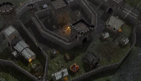 Stronghold 3 - déšť