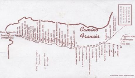 FOTO: trasa pouti z městečka Saint Jean Pied de Port