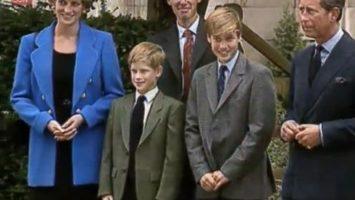 FOTO: William s rodinou během prvního dne na Eton College