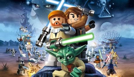 Yoda, Anakin a Obi-Wan na titulní fotce hry LEGO Star Wars