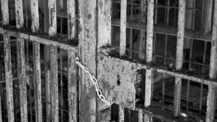 FOTO: Vězeňské mříže