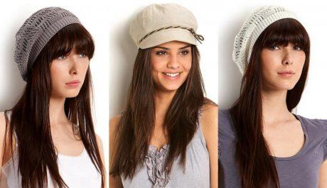 FOTO: Dámské letní čepice