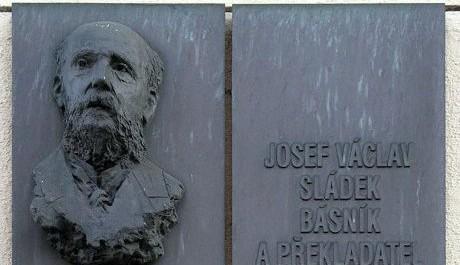 FOTO: Pamětní deska na budově OA v Praze - Resslově ulici