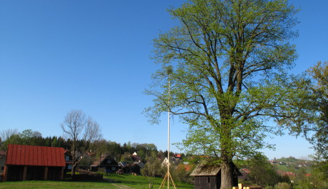 FOTO: Pohled na vesničku Hrčavu
