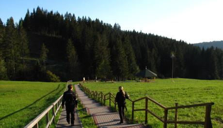 Foto: Trojmezí na Hrčavě