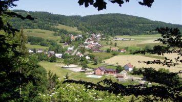 Foto: Pohled na osadu Klokočůvek