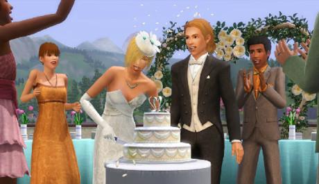 The Sims 3 Hrátky Osudu Svatba